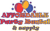 AFFORDABLE PARTY RENTAL & SUPPLY
